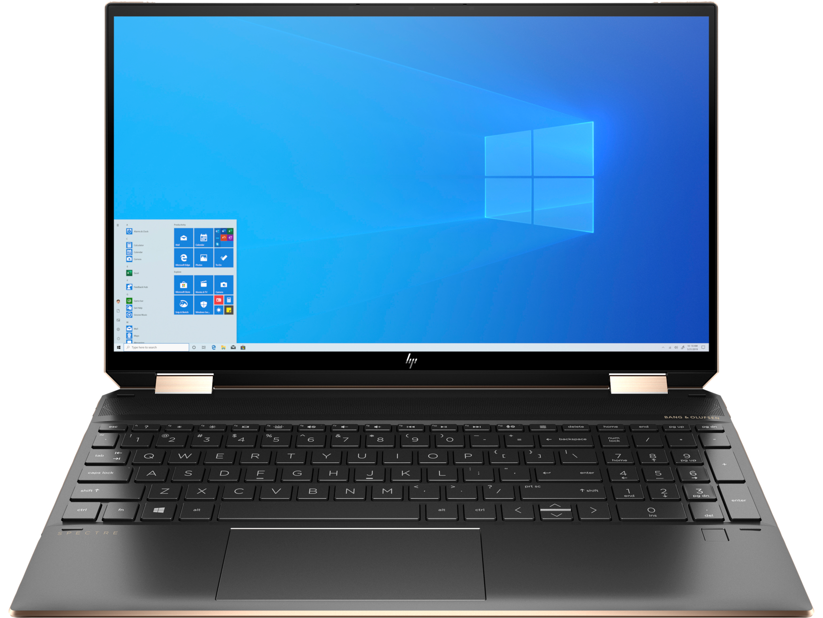 "Ноутбук HP Spectre 15-eb1004ur (2X2A8EA) 15.6""(3840x2160)IPS Cенсорный/ i7-1165G7(2.8ГГц)/ 16Гб/ 512Gb SSD/ Iris Xe Graphics/ нет DVD/ Win10 / Черный"