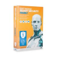 Eset NOD32 Smart Security Family - лицензия на 1 год на 5ПК (NOD32-ESM-NS(BOX)-1-5)