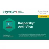 Kaspersky Anti-Virus Russian 2-Desktop 1 year Renewal Card (KL1171ROBFR)