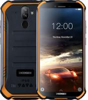 Смартфон Doogee S40 Fire Orange, 5.5'' 18:9 960x480, 1.5GHz, 4 Core, 2GB RAM, 16GB, up to 64GB flash, 5Mpix+8Mpix/5Mpix, 2 Sim, 2G, 3G, LTE, BT, Wi-Fi, NFC, GPS, Micro-USB, 4650 мАч, Android 9.0 (Pie), 238 г, 158,2 ммx79 ммx14,1 мм, IP68, IP69
