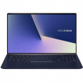 "Ноутбук Asus ZenBook 15 UX533FD Intel Core i7 8565U, 1.8 GHz, 16384 Mb, 15.6"" Full HD 1920x1080, 1000 Gb SSD, DVD нет, Nvidia GeForce GTX 1050 2048 Mb, Windows 10 Professional, синий, 1.59 кг, 90NB0JX1-M01640"