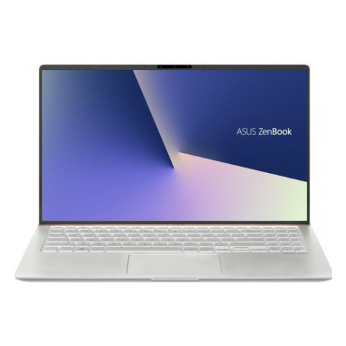 Ноутбук ASUS Zenbook 15 UX533FD-A8068R Core i7-8565U/16Gb/512Gb SSD/GeForce GTX 1050 MAX Q 2Gb/15.6 FHD 1920x1080 AG/WiFi/BT/HD IR/RGB Combo Cam/Windows 10 Pro/1.6Kg/Icicle_Silver (90NB0JX2-M01650)