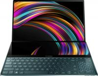"Ноутбук Asus Zenbook Pro Duo UX581GV-H2002T Blue Core i7-9750H/16G/1Tb SSD/15,6"" UHD OLED + 14"" UHD IPS Touch/NV RTX2060 6G/WiFi/BT/NumberPad/Win10 + Stylus 90NB0NG1-M00220"