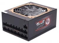 ZALMAN 1000W ZM1000-EBT 80 PLUS GOLD, ATX 2.3, APFC, 120mm Fan, 8x HDD, 12x SATA, 6x PCI-E (SLI or CrossfireX), модульные кабели в оплетке, black